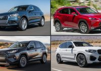 Best Hybird Suv Luxury Small Hybrid Suvs which are the Most Efficient