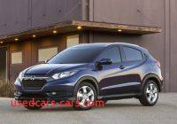 Best Mpg Crossover 2015 Awesome 2015 Honda Hr V Fit Platformed Compact Suv with Sports