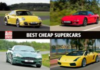 Best Sprot Cars 2019 New Best Cheap Supercars