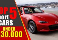 Best Used Sports Cars Under 30k Unique 5 Best Used Sports Cars Under 30k