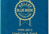 Blue Book Used Car New Kelley Blue Book Used Car Guide Consumer Edition October December