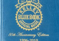 Blue Book Used Car Values Beautiful Kelley Blue Book Used Car Guide Consumer Edition 1996 2010