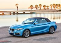Bmw 2-series Beautiful World Premiere Bmw 2 Series Coupe and Convertible Facelift