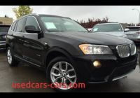 Bmw X3 2013 Review Elegant Pre Owned Black 2013 Bmw X3 Awd 28i In Depth Review
