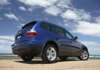 Bmw X3 Dimensions Luxury Bmw X3 3 0d [au Spec] 2007–10