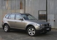 Bmw X3 Dimensions New Bmw X3 2 0d [au Spec] E83 2008–10