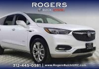 Buick Enclave Elegant New 2019 Buick Enclave Avenir Awd White Frost Tricoat Sport Utility for Sale at Rogers Buick Gmc In Chicago Il