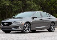 Buick Regal Luxury 2018 Buick Regal First Drive Great Intentions Mediocre Results