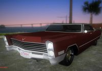 Cadillac Coupe Deville Luxury Cadillac Deville Lowrider 1967 дРя Gta Vice City