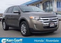 Can A 2020 ford Edge Be Flat towed Beautiful Pre Owned 2014 ford Edge 4dr Limited Awd
