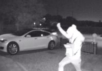 Can Tesla Be Stolen New Tesla Gets Stolen with Keyfob Hack On Camera In Seconds