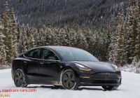 Can Tesla Drive In Snow Luxury these Tesla Model 3 In Snow Photos Will Send Chills Down