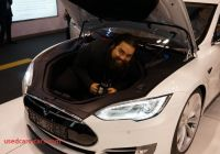 Can Tesla Park Itself Inspirational Tesla D Unveiled It Can Literally Drive and Park Itself