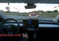 Can Tesla Self Drive Elegant Teslas Full Self Driving Technology Can Be Seen In Action