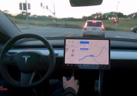 Can Tesla Self Drive Fresh Tesla Releases New Self Driving Demo with New Autopilot