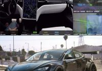 Can Tesla Self Drive Unique Video Shows Exactly What A Self Driving Tesla Sees when On
