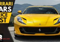 Car Cost Best Of Ferrari Cars Price List 2018 Youtube