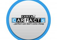 "Car Facts Report Fresh Carfacts On ""be Warned Be Wise A Carfax Report"
