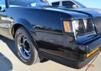 Car for Sale by Owner Lovely 1987 Buick Grand National for Sale One Owner Ann Arbor Michigan Auto