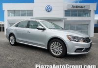 Car for Sale Reading New Used 2017 Volkswagen Passat for Sale