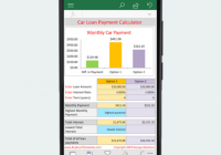 Car Payment Calculator App Awesome Excel Car Loan Calculator android App Buyexceltemplates Com