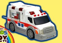Car toys for Boys Beautiful Ambulance Dickie toys the toy Car for Boys Open the Box and Make