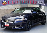Carfax Auto Sales Lovely Certified Pre Owned One Owner Free Carfax 2018 Chevrolet Impala