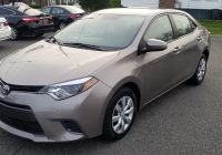 Carfax Cars for Sale by Owner Inspirational 2016 toyota Corolla Le 1 8l 4 Cylinder Clean Carfax 1 Owner Only