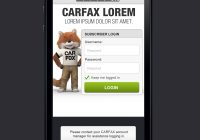 Carfax Login and Password Awesome Carfax Mobile App for Dealers Vin Scanner On Behance