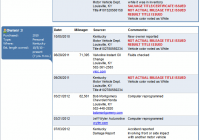 Carfax Purchase Service New Carfax Vehicle History Report Sample