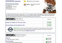 Carfax Report Cost Awesome 1988 ford Mustang Gt