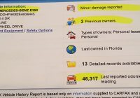 Carfax Report for Less Elegant How to A Used Mercedes or Any Used Car and Save 56