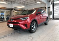 Carfax toyota Unique 2017 toyota Rav4 Le One Owner Clean Carfax Report Used for Sale In