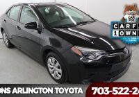 Carfax Used Car Search Fresh Used Car Specials In Arlington County at Koons Arlington toyota