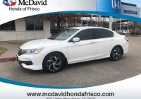 Carfax Used Cars Dallas Inspirational Certified Used 2016 Honda Accord Lx for Sale Dallas Tx