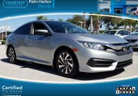 Carfax Used Cars Free Report New Used 2016 Honda Civic for Sale at Courtesy Palm Harbor Honda