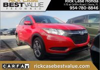 Carfax Used Cars Miami Beautiful 2018 Honda Hr V Lx In Milano Red for Sale In Miami Fl Used at