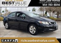 Carfax Used Cars Miami Inspirational 2013 Honda Civic In Crystal Black Pearl for Sale In Miami Fl Used