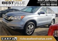 Carfax Used Cars Miami Luxury 2010 Honda Cr V Ex L In for Sale In Miami Fl Used at Rick Case