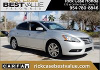 Carfax Used Cars Miami Luxury 2013 Nissan Sentra Sl In Brilliant Silver for Sale In Miami Fl