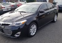 Carfax Used Cars Miami Unique 2015 toyota Avalon Xle 3 5l V6 Clean Carfax 1 Owner Under Warranty