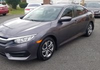 Carfax Used Cars New Jersey Unique 2016 Honda Civic Lx 1 8 4 Cylinder Clean Carfax 1 Owner Only 13k