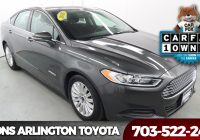 Carfax Used Cars Sale Elegant Used Car Specials In Arlington County at Koons Arlington toyota