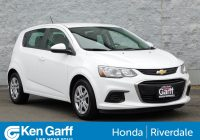Carfax Used Cars San Diego Awesome Pre Owned 2017 Chevrolet sonic Lt Hatchback In Ogden 3hut6076