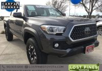Carfax Used Cars toyota Tacoma Luxury Certified Pre Owned 2018 toyota Ta A Tro 4d Double Cab In Bastrop