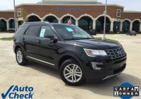 Carfax Used Cars Under 5000 Lovely 2016 ford Explorer Xlt
