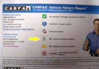 Carfax Vehicle Report New Honda and Acura Used Car Blog