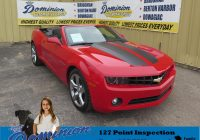 Carfax Vehicles for Sale New Pre Owned 2012 Chevrolet Camaro 2lt Convertible In Bridgman P4882a