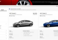Cargurus Tesla Model 3 Fresh Tesla Drops A Bunch More Used Model 3 Inventory at