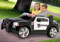 Cars 4 Kids New Kid Trax Dodge Charger Pursuit 12v Police Car Kt1111wm
